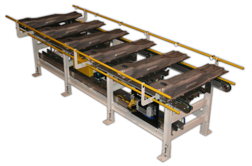 Accumulating Lift & Transfer Conveyors