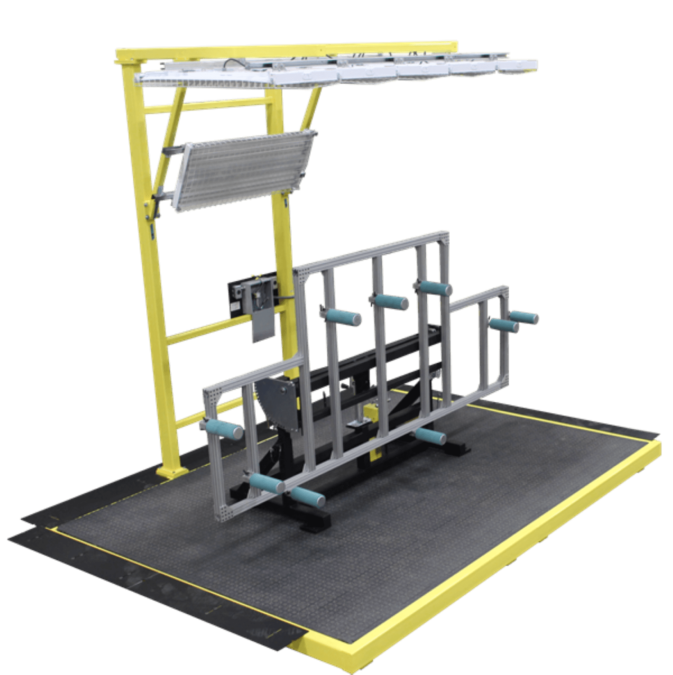 Manual Lift & Tilt Panel Finishing Stand 1 Alternative Engineering
