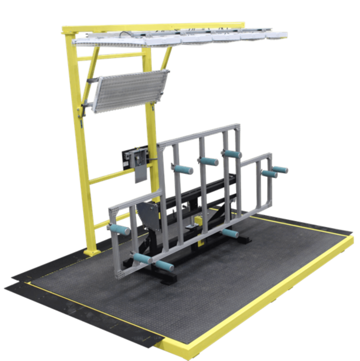 Manual Lift & Tilt Panel Finishing Stand 167 Alternative Engineering